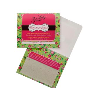 Blotting-paper-olie-absorberend-papier Lady Green Puur Company